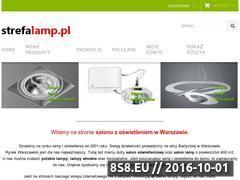 Miniaturka domeny www.strefalamp.pl