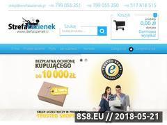 Miniaturka domeny strefalazienek.pl