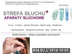 Miniaturka www.strefasluchu.pl (Aparaty słuchowe)