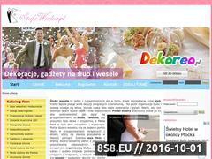 Miniaturka domeny www.strefaweselna.pl