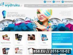 Miniaturka domeny www.strefawydruku.pl