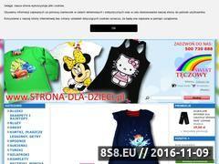 Miniaturka domeny www.strona-dla-dzieci.pl