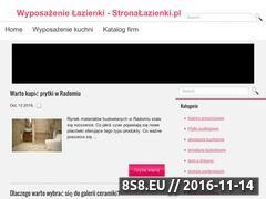 Miniaturka domeny stronalazienki.pl
