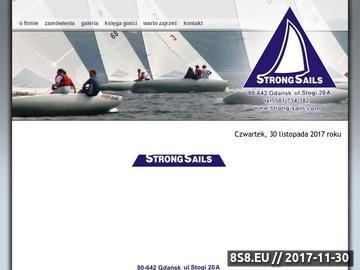 Zrzut strony Gdańsk żaglownia Strong Sails
