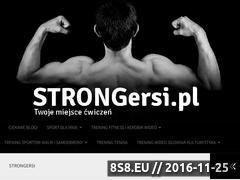 Miniaturka domeny strongersi.pl