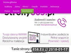 Miniaturka strony365.pl (Tanie strony internetowe)