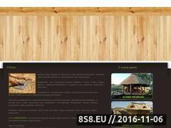 Miniaturka Altanki drewniane kryte strzechą oraz strzecharstwo (www.strzechpol.com.pl)