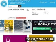 Miniaturka domeny studia.slask.pl