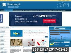 Miniaturka domeny www.studia.uczelnie.pl