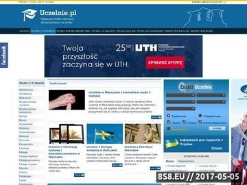 Zrzut strony Studia Warszawa