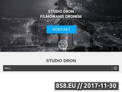 Miniaturka studio-dron.pl (Filmowanie i fotografia z powietrza)