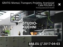 Miniaturka studio-kuchni.eu (Kuchnie na wymiar oraz meble kuchenne na zamówienie)