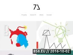 Miniaturka studio7a.pl (Projekty graficzne)