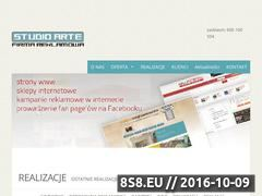 Miniaturka Banery reklamowe, kasetony led i wizytówki (studioarte.com.pl)