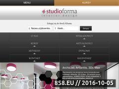 Miniaturka domeny www.studioforma.edu.pl