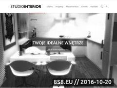 Miniaturka domeny www.studiointerior.pl