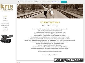 Zrzut strony Studio Kris