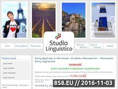 Miniaturka domeny www.studiolinguistico.pl