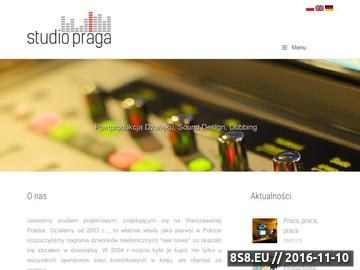 Zrzut strony Studio nagrań - nagrania lektorskie i audiobooki