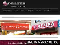 Miniaturka domeny www.studioprinter.pl