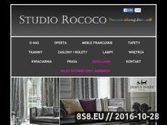 Miniaturka domeny www.studiorococo.com