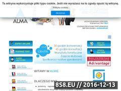 Miniaturka domeny www.studiumalma.pl