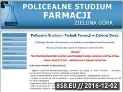 Miniaturka domeny www.studiumfarmacji.zgora.pl