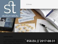 Miniaturka domeny studiumtekstu.pl
