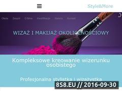 Miniaturka styleandmore.pl (Osobista stylistka i presonal shopper - Kraków)