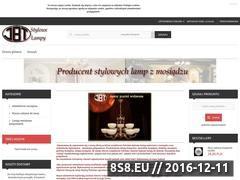Miniaturka domeny www.stylowelampy.pl