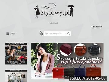 Zrzut strony Prezenty, upominki, gadżety reklamowe, portfele - stylowy.pl