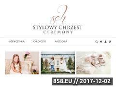 Miniaturka stylowychrzest.pl (Ubranka dla dzieci)