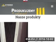 Miniaturka Producent wyrobów betonowych - Rzeszów (styrobudbetoniarnie.pl)