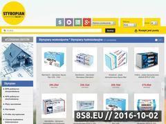 Miniaturka Internetowy sklep budowlany (styropian-sklep.pl)