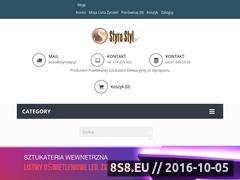 Miniaturka domeny www.styrostyl.pl