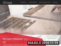 Miniaturka domeny www.subeli.com