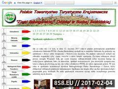 Miniaturka domeny sucha-beskidzka.pttk.pl