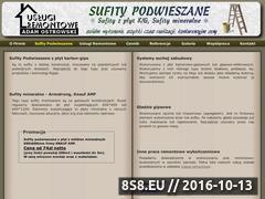 Miniaturka domeny www.sufitypodwieszane.org.pl