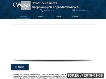 Zrzut strony Siatka krępowana i pleciona