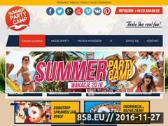 Miniaturka domeny www.summerpartycamp.pl