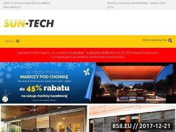 Zrzut strony Rolety i żaluzje oraz moskitiery okienne w Łodzi