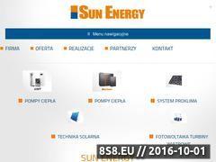 Miniaturka domeny sunenergy.pl