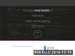 Miniaturka Pozycjonowanie stron oraz tworzenie stron WWW (sunspot.pl)
