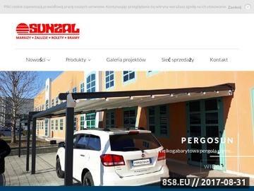 Zrzut strony Pergole