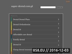 Miniaturka domeny super-dental.com.pl