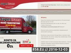 Miniaturka domeny super-trans.pl