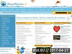 Miniaturka www.superakwarium.pl (Akwarium)
