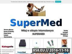 Miniaturka domeny www.supermed.pl