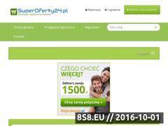 Miniaturka www.superoferty24.pl (Portal z darmowymi ogłoszeniami lokalnymi)