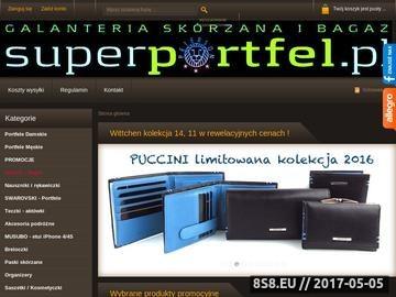 Zrzut strony Najlepsze ekskluzywne portfele skórzane w Polsce